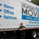 Heavenly care moving truck and driiver