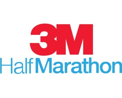 3M Half Marathon logo