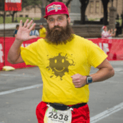Runner dressed as Forrest Gump to run 3M Half Marathon