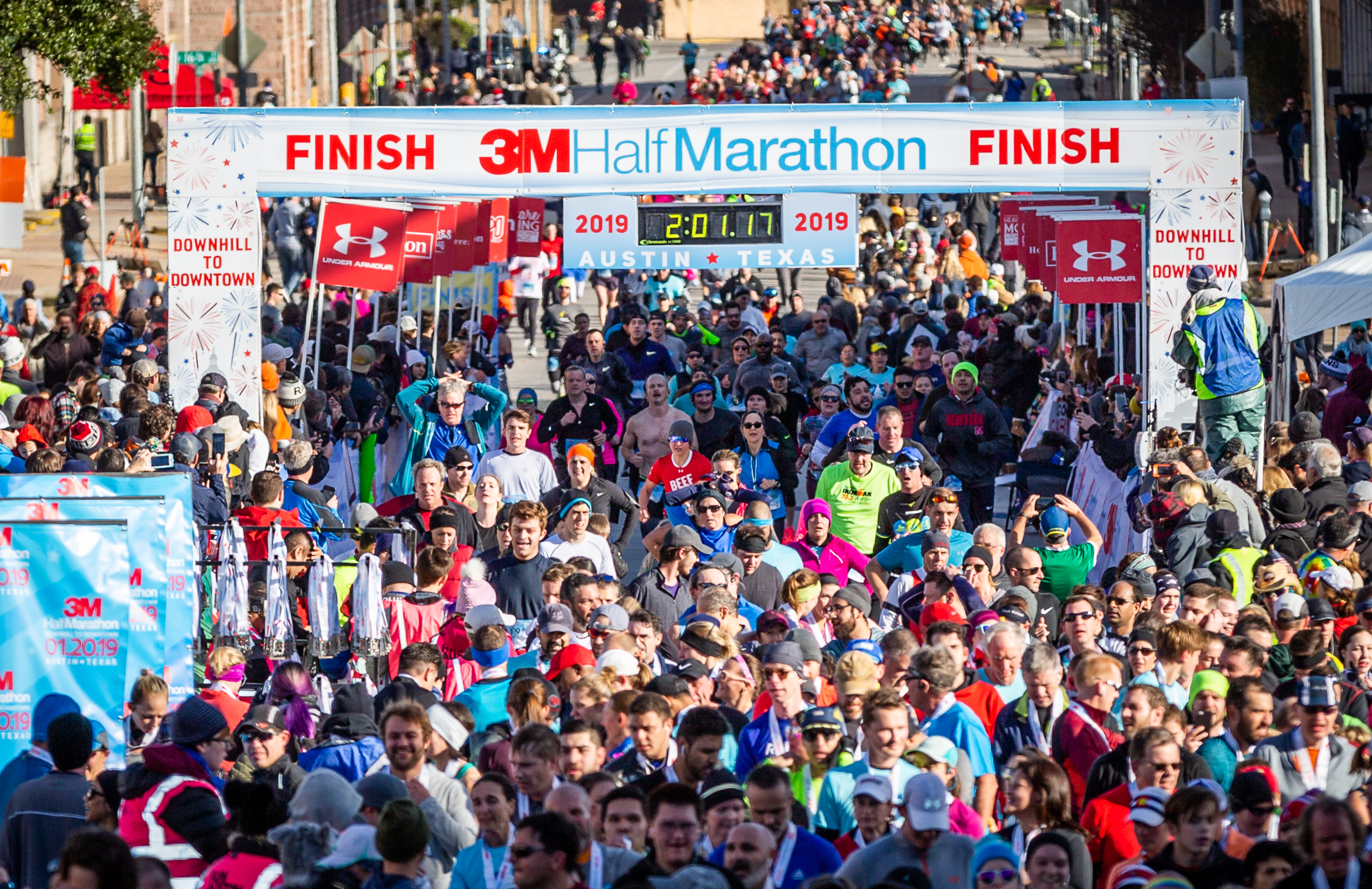 The largest field in 3M Half Marathon history enjoyed perfect weather on Sunday, Jan. 20th.