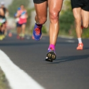 Runners on a long run, one of 7 types of runs runners should use during their 3M Half Marathon training.