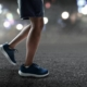 Runner runs at night. Every runner should use these 5 safety tips now that daylight saving time has ended.