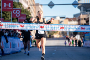 Jess Harper became the 3M Half Marathon female champ for the third year in a row. The 2020 3M Half Marathon presented by Under Armour provided plenty of PRs!