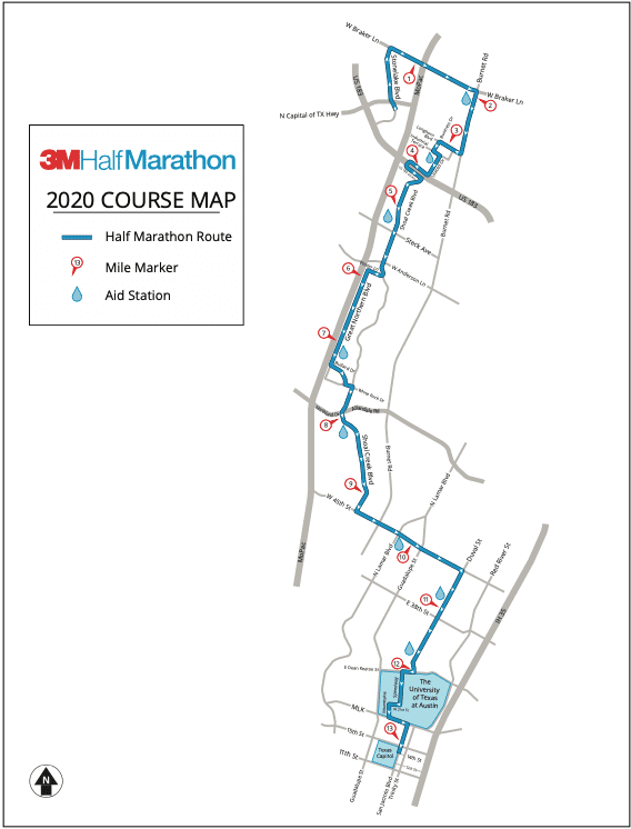 3M Half Marathon is considered one of the fastest 13.1-mile, point-to-point courses in the country.