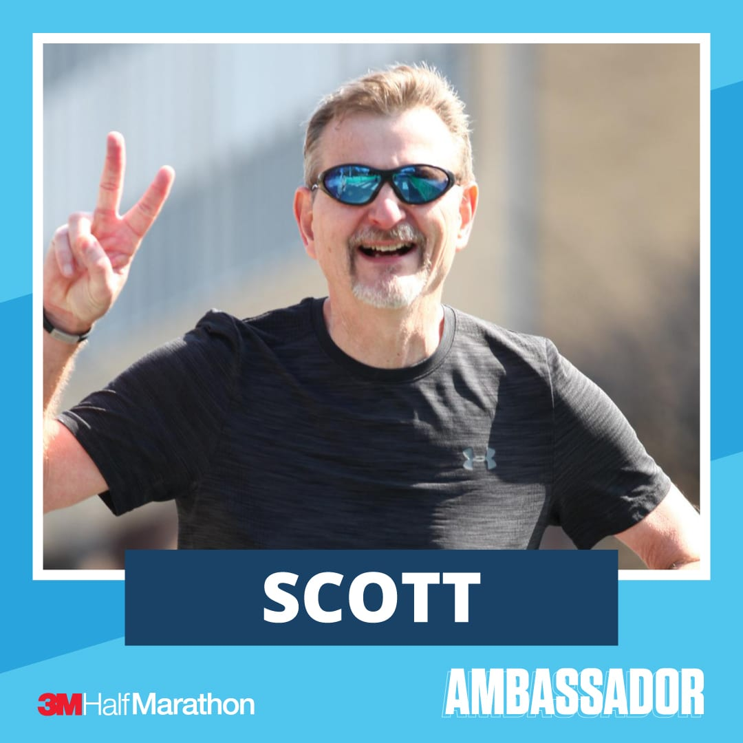 Scott - 2021 3M Half Marathon Running Ambassador