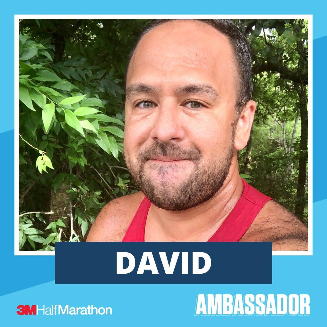 David - 2021 3M Half Marathon Running Ambassador
