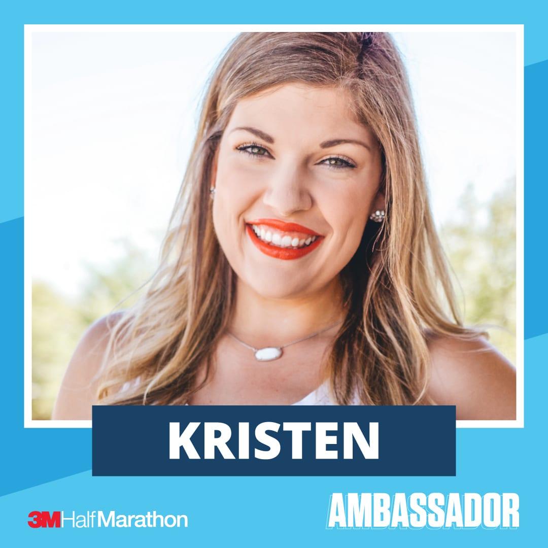 Kristen - 2021 3M Half Marathon Running Ambassador