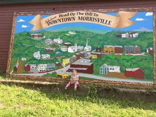 EXPLORING MORRISVILLE THROUGH THE GREEN MOUNTAIN BYWAY