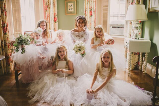 This pretty picture from years past caught our eye and made us smile again. Tulle upon tulle upon tulle will do that to you. 💗💫 photo: @alexandraroberts