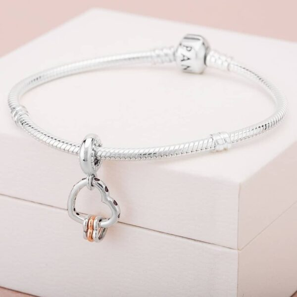 Pandora Heart Highlights Multicolored Dangle Charm