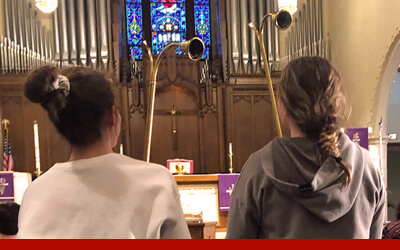 East Side Lutheran Church Time and Talents Homepage Button