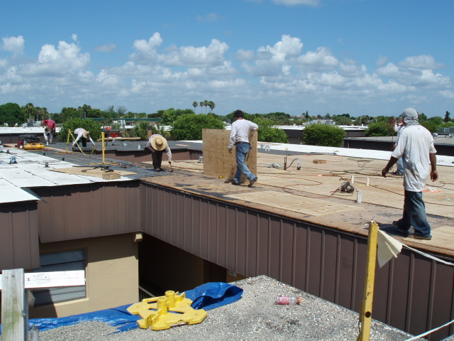 Re-Roofing Step 2