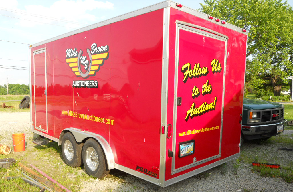 Fully equipped mobile office