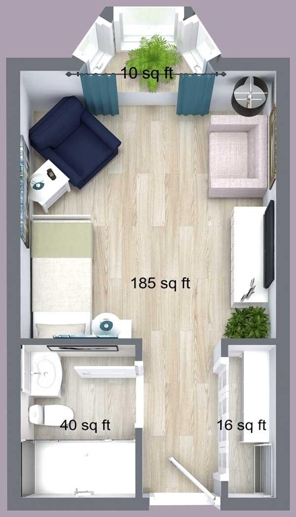 King Place Suite