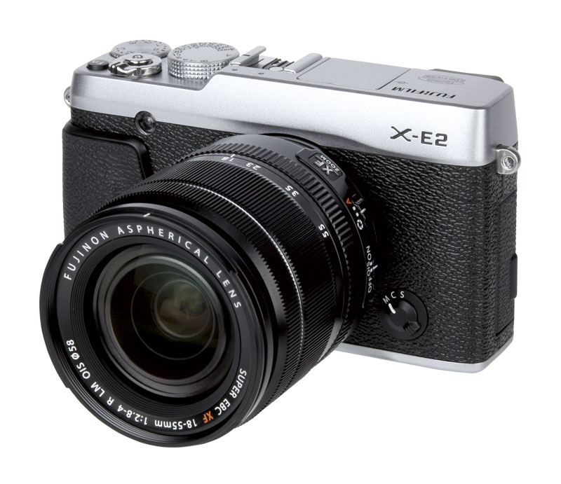 Fujifilm X-E2 testing the 18-55mm and 55-200mm with Test Chart