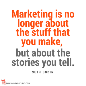 Marketing is no longer about the stuff you make!