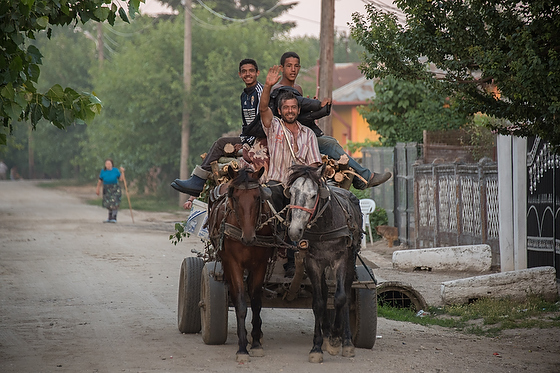 Shooting in a Romanian village