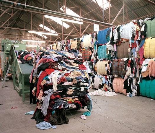 clothing product destruction