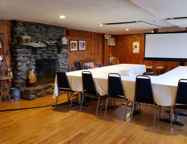 Tables set for Meeting