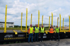 Mercer Holz, TRANSWAGGON (TWA) and PJM leaders who partnered for the LoadMonitor system