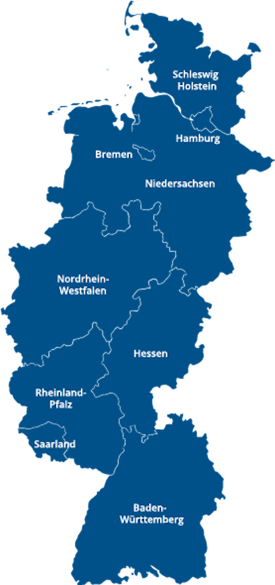 Western region of Germany and of Mercer Holz operations