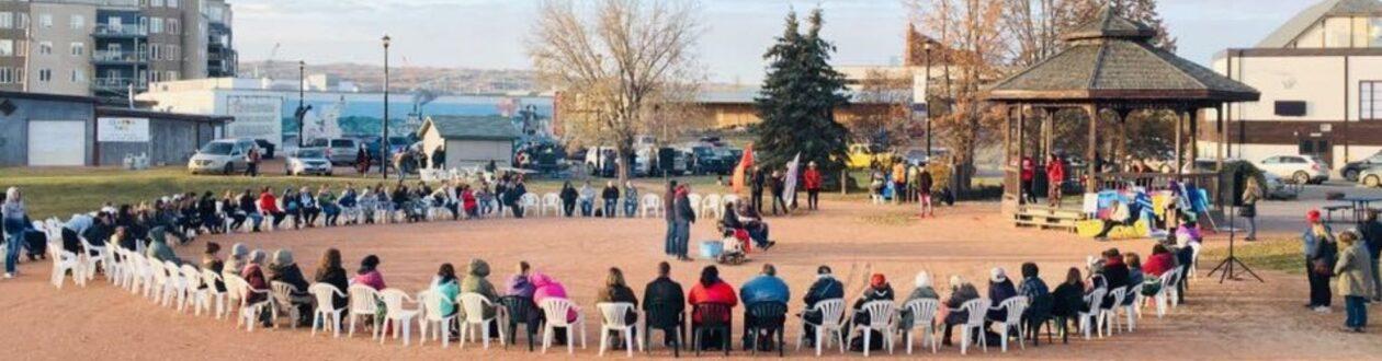 Sisters in Spirit gathering in Peace River, Alberta, Canada