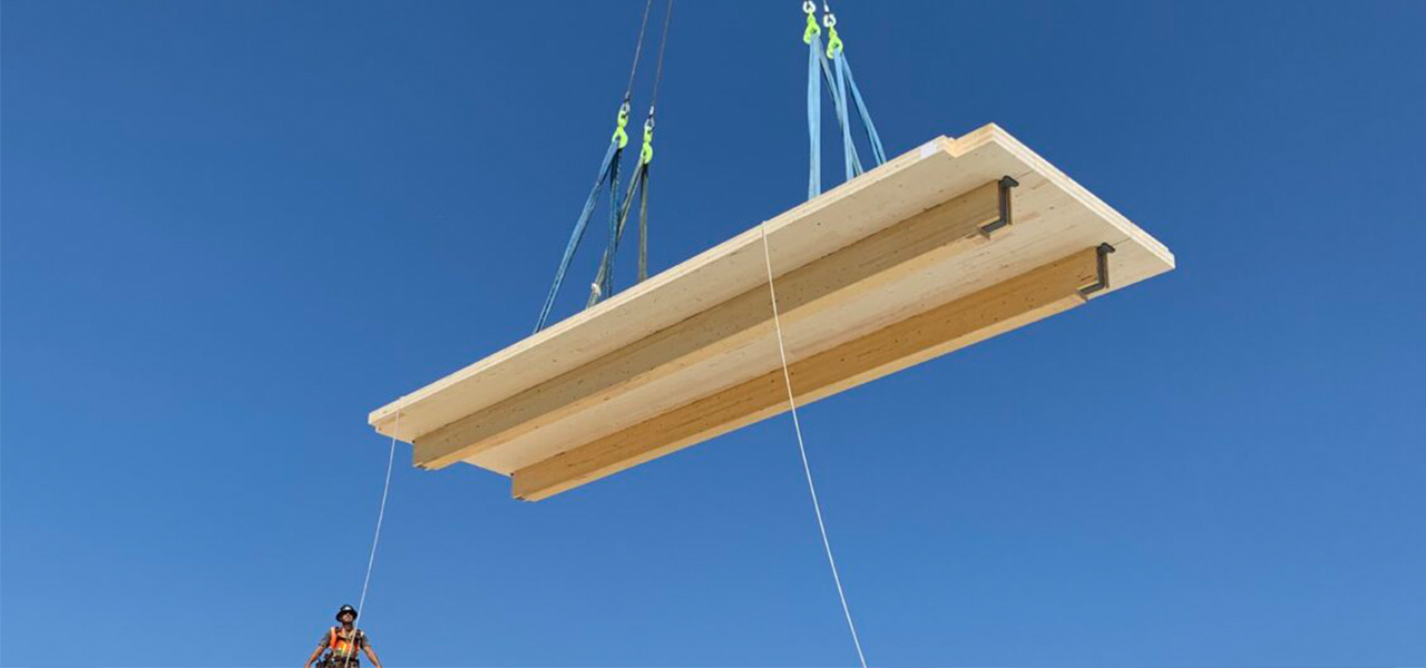 We are excited to be entering the Mass Timber business with one of North America's largest CLT production facilities. We look forward to supporting Mass Timber projects.