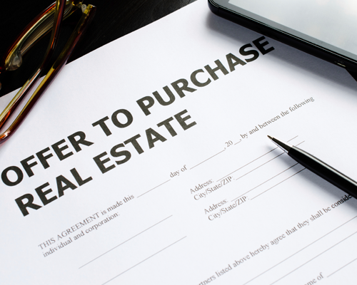 Whats your offer strategy to purchase real estate