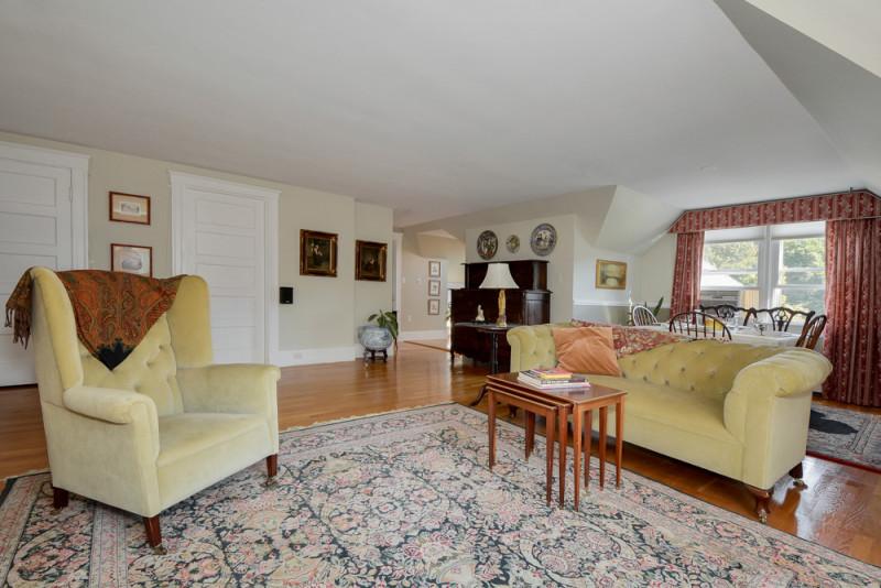 Living Room at Grey Rock Condos