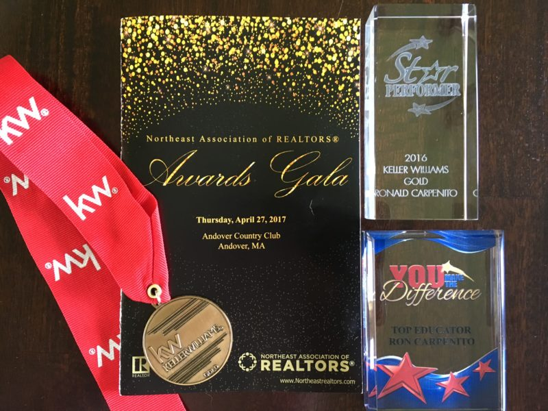 Ron Carpenito - Top Producer Realtor Award