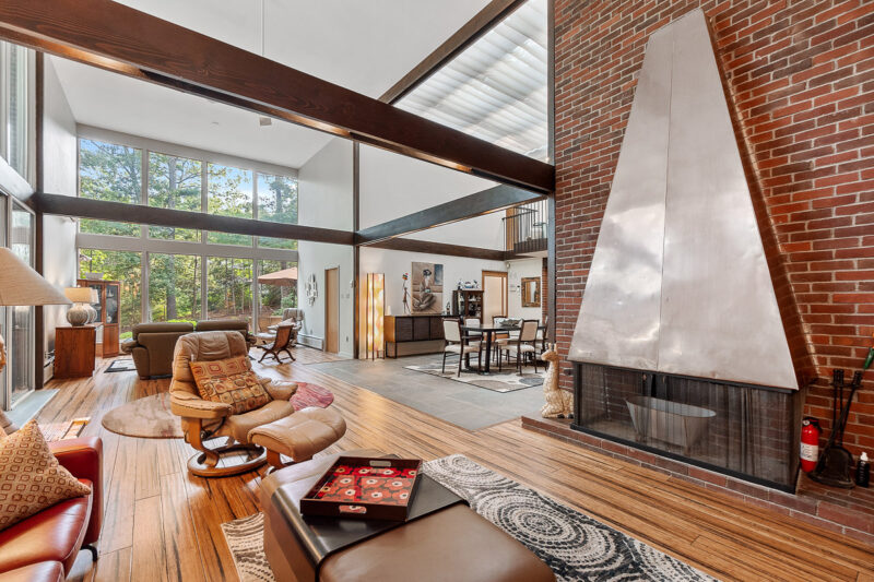 Mid-Century Andover, MA Home for Sale