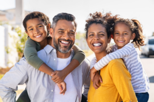 Parents build on their healthy relationships with their kids.