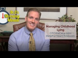 Managing Childhood Lying: Dr. C's Morning Minute 151