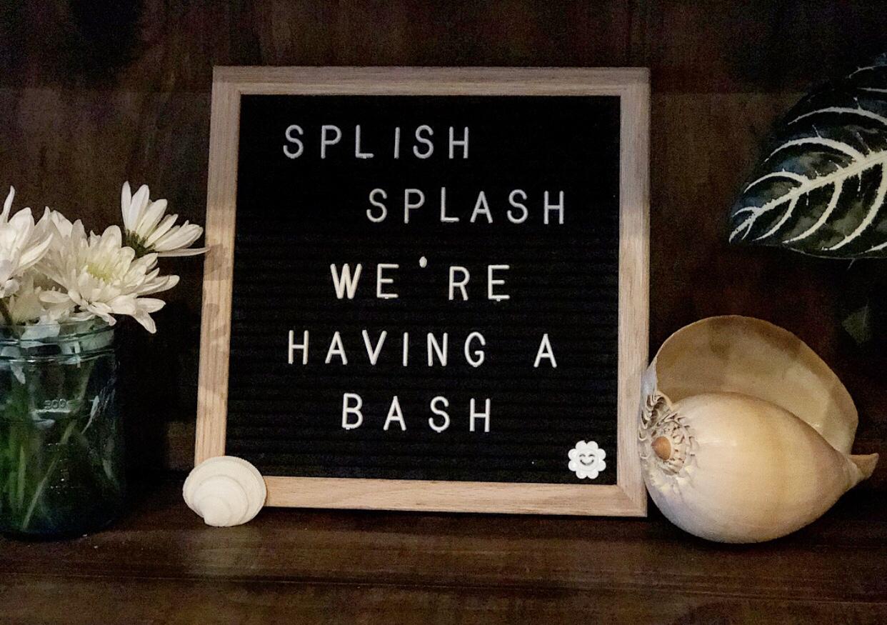 Splish Splash, We're Having a Bash!