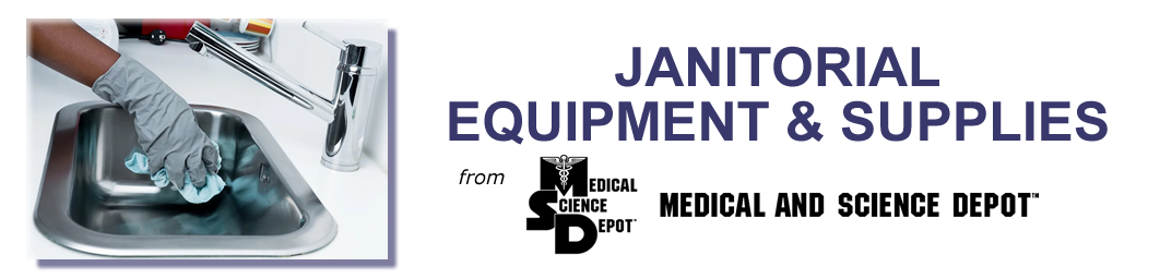 Janitorial Supplies from Medical and Science Depot