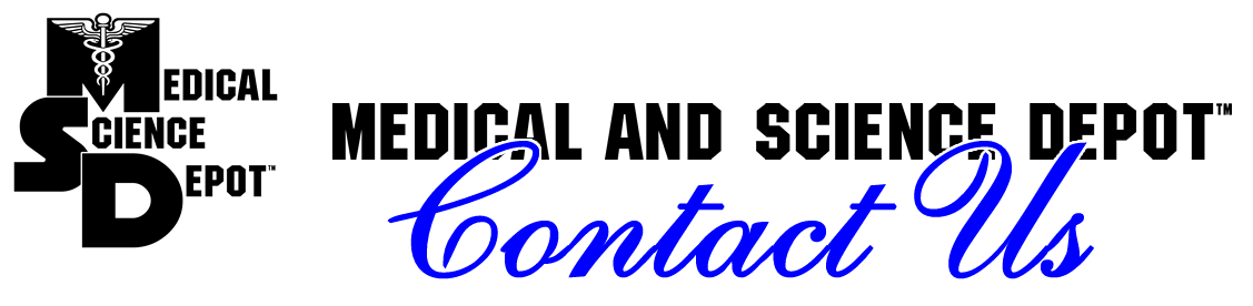 Contact Medical and Science Depot