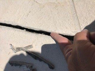 Driveway Crack