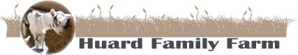 Huard Family Farm Logo