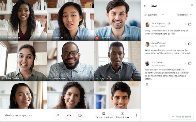 """Google Meet เปิดตัวฟีเจอร์ใหม่ """"การยกมือขอเปิดไมค์เมื่อสงสัย"""" วงการไอที โปรแกรมใหม่ แนะนำแอพ GoogleMeet FeatureRaiseHand"""