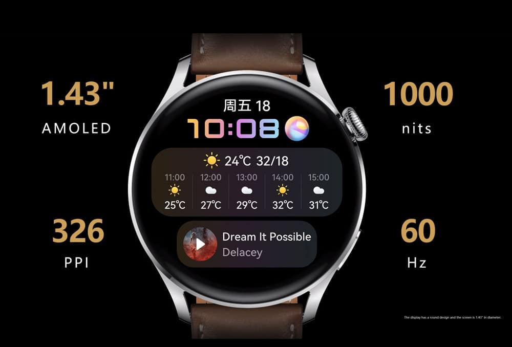 เปิดตัวนาฬิกาอัจฉริยะตัวใหม่ Smart watch รุ่น Huawei WATCH 3 ในราคา 12,990 บาท วงการไอทีโปรแกรมใหม่ แนะนำแอพ รีวิวโทรศัพท์ Huawei HuaweiWATCH3