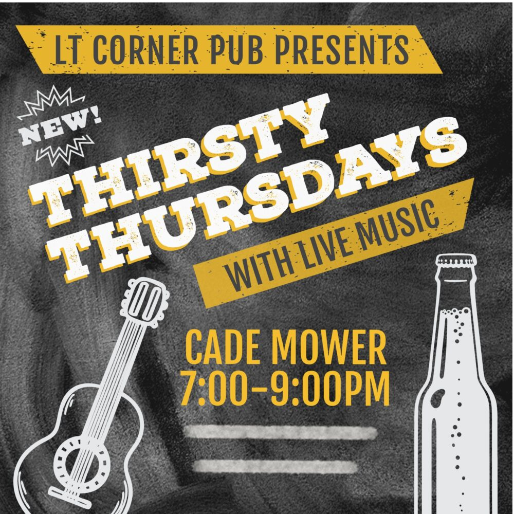 Thirsty Thursday with Cade Mower