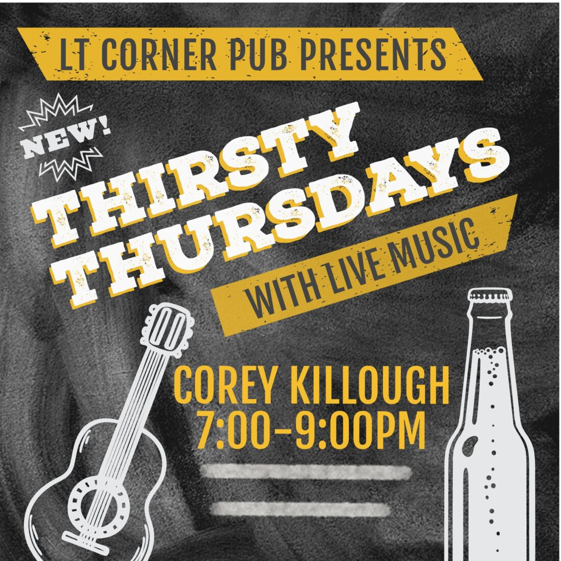 Thirsty Thursday with Corey Killough