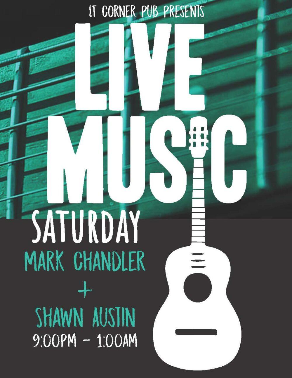 Live Music Saturday with Mark Chandler & Shawn Austin