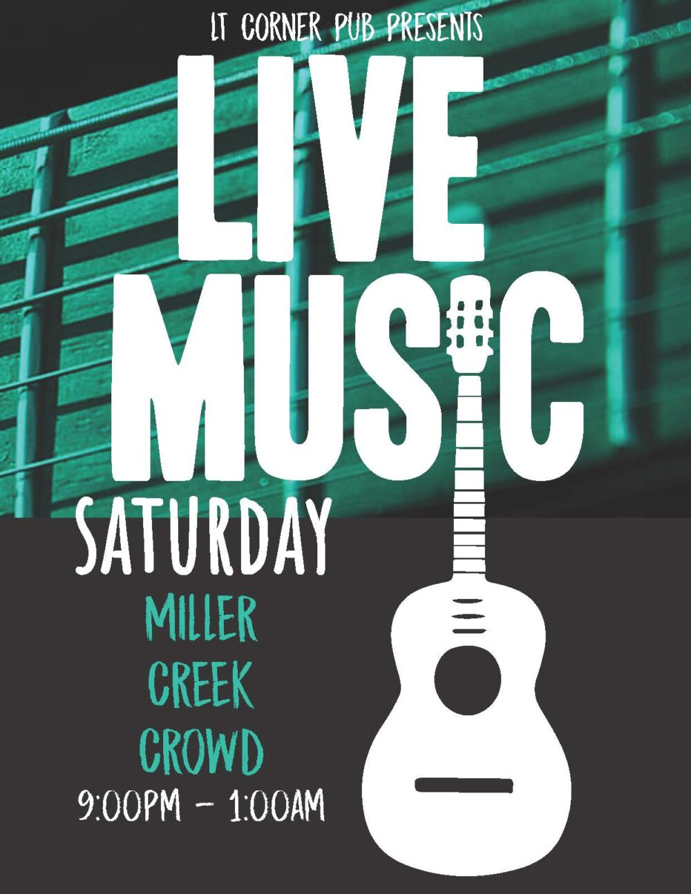 Live Music Saturday with Miller Creek Crowd