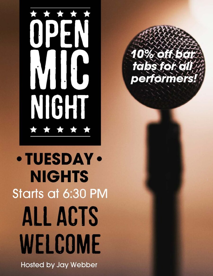 Open Mic Night with Jay Webber @ Lakeway   Texas   United States