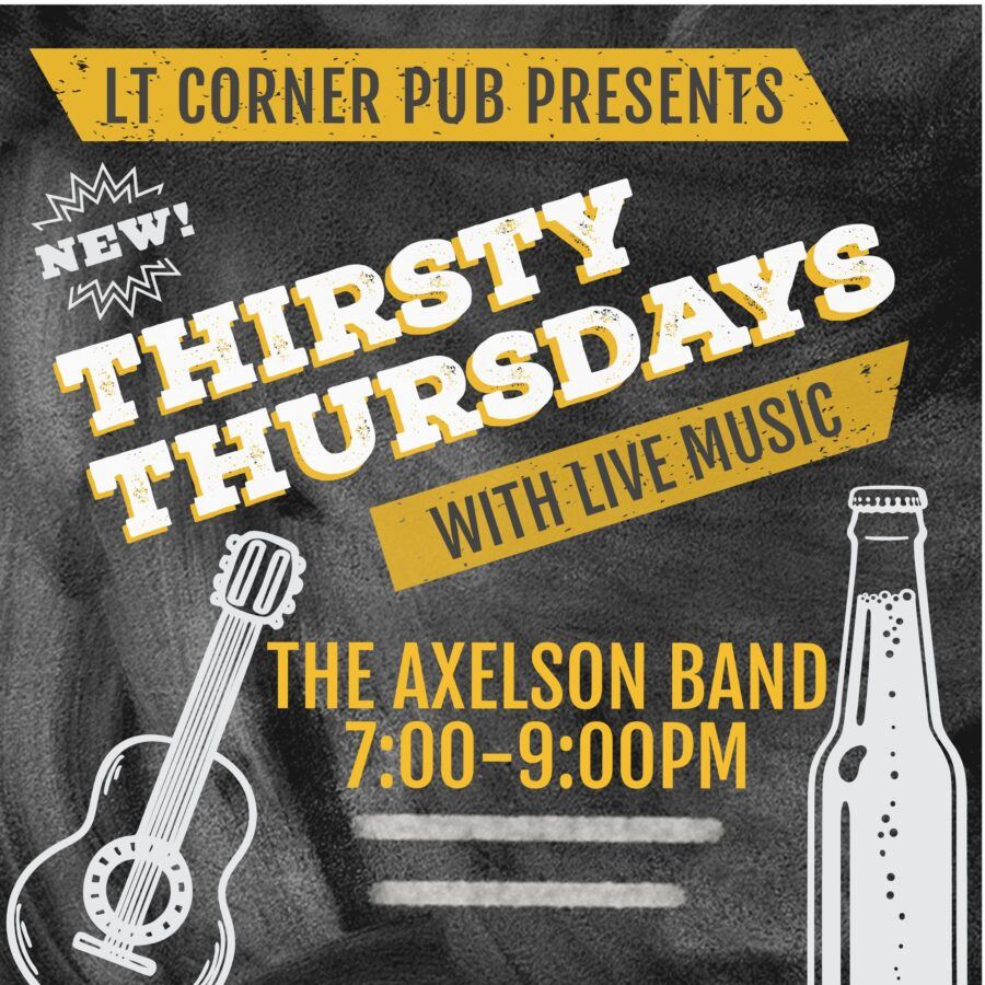 Thirsty Thursday with The Axelson Band