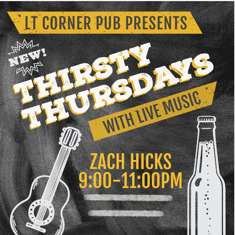 Thirsty Thursday with Zach Hicks