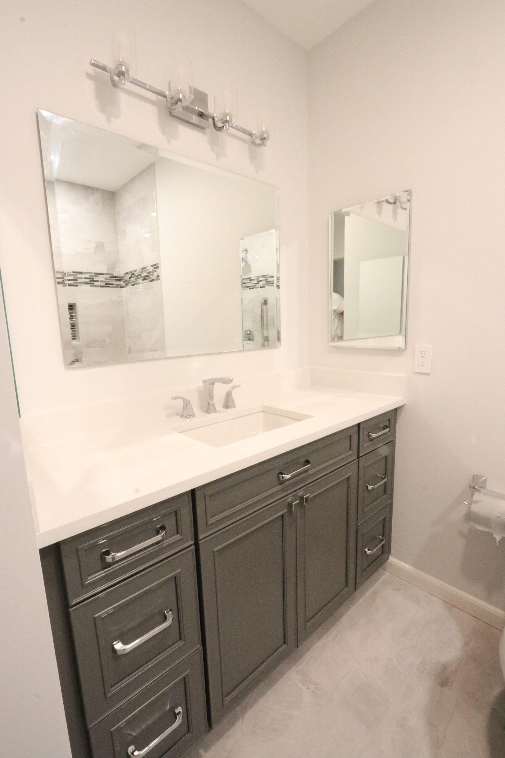 Hoboken Bathroom Remodeling Vanity