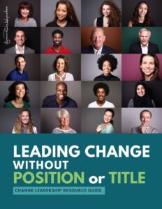 leading chage without position or title book cover