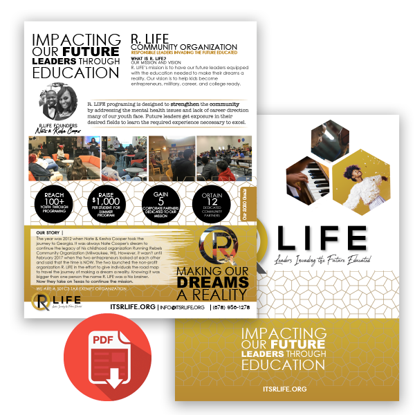 Click to download the R Life One Pager
